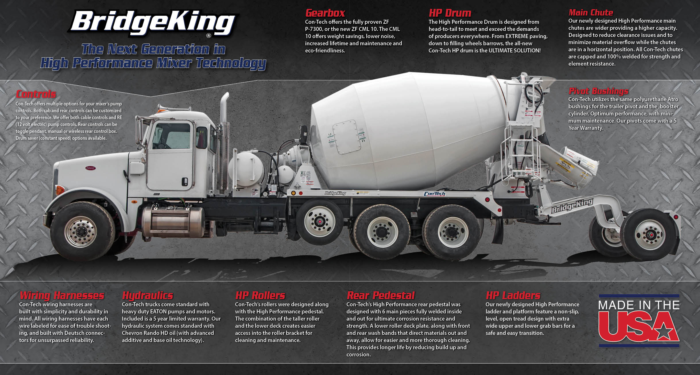 BridgeKing: The next generation in high performance mixer