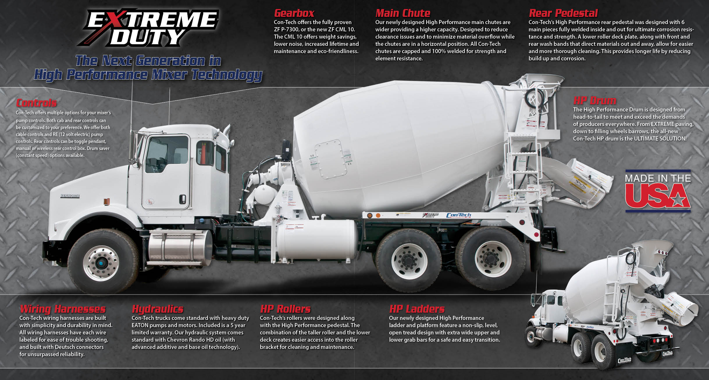 Extreme Duty: The next generation in high performance mixer